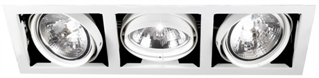 DOWNLIGHT QUADRA - Triple Recessed