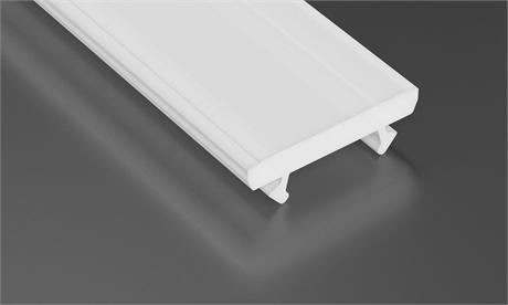COVER TERRA - PVC - MILKY - 1m