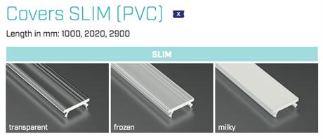 COVER X - PMMA - MILKY - 1m