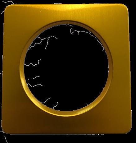 POWER SPOT 60 SQUARE BEZEL - GOLD MAT