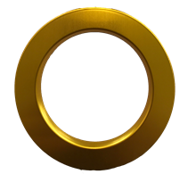 POWER SPOT 60 BEZEL - GOLD MAT