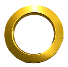 POWER SPOT BEZEL - GOLD SHINY