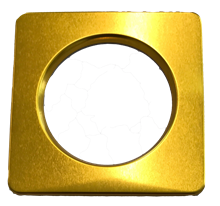 POWER SPOT 60 SQUARE BEZEL - GOLD SHINY